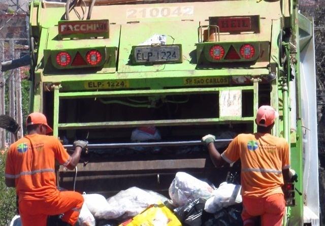 São Carlos Ambiental reduz dias da coleta de lixo - Crédito: Divulgação