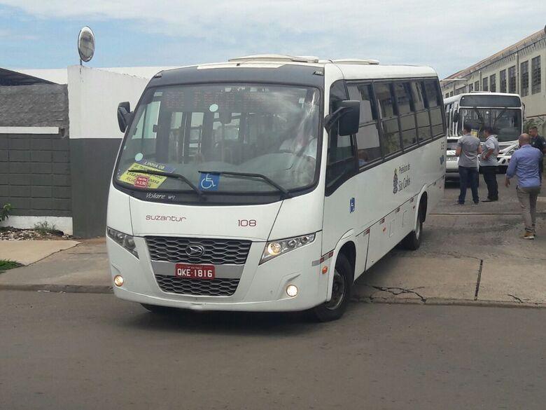 Estoque de Suzantur garante transporte coletivo até segunda-feira -