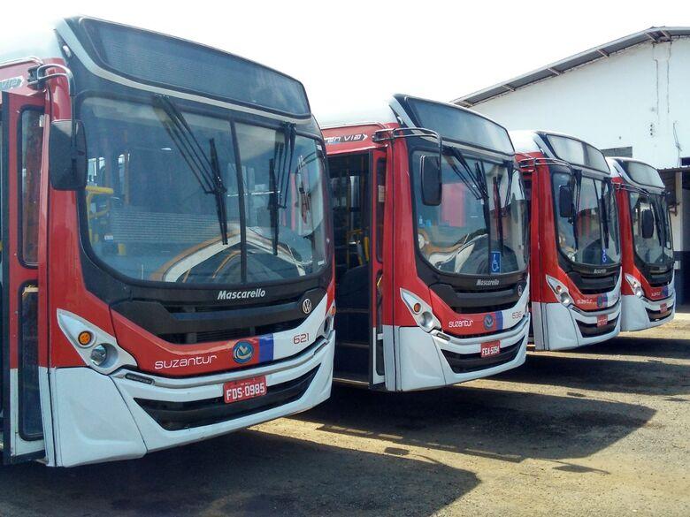 Ônibus da Suzantur estão rodando normalmente -