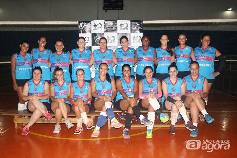 Equipe de vôlei feminino faz a sua primeira apresentação em Limeira - Crédito: Marcos Escrivani
