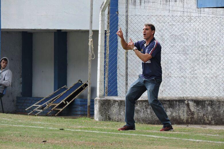 Florentino: Mais uma vez, treinador gremista conseguiu sair vencendo fora de casa - Crédito: Gustavo Curvelo/Divulgação