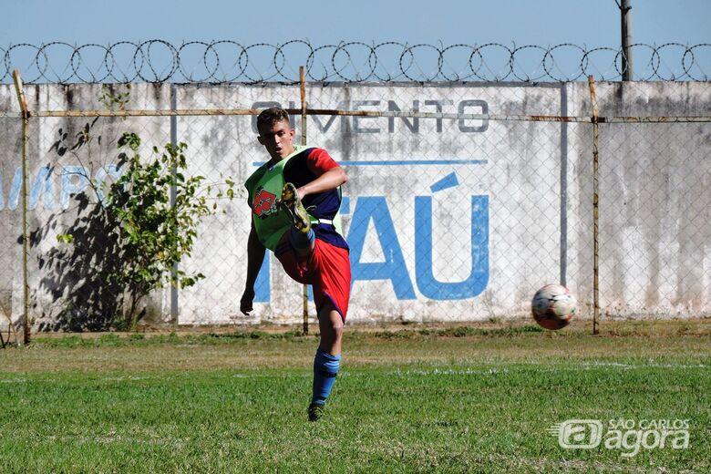 Equipe sub20 do Lobão já realiza treinamentos para o estadual - Crédito: Gustavo Curvelo/Divulgação