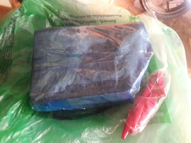 ROCAM encontra maconha escondida em pacote de fraldas no CDHU - Crédito: Maycon Maximino
