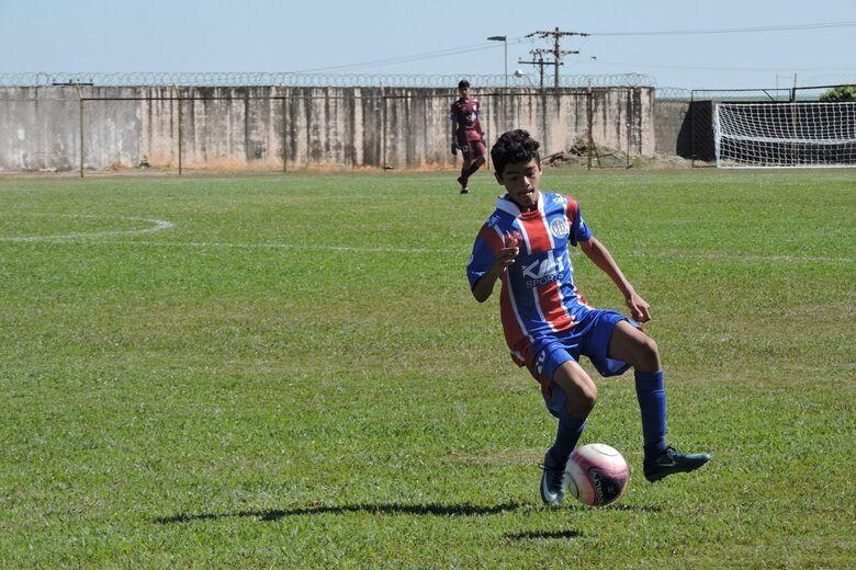 Equipes sub11 e sub13 jogam a próxima partida fora de casa - Crédito: Gustavo Curvelo/Divulgação