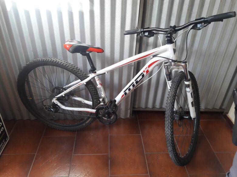 Bike apreendida foi furtada no dia 15 deste mês - Crédito: Maycon Maximino