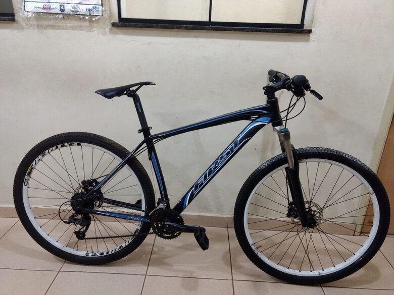 A bike foi recuperada e devolvida ao proprietário - Crédito: Luciano Lopes