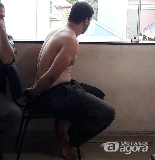 Rapaz que agrediu idoso na rotatória do Cristo é preso por tentativa de homicídio - Crédito: Maycon Maximino