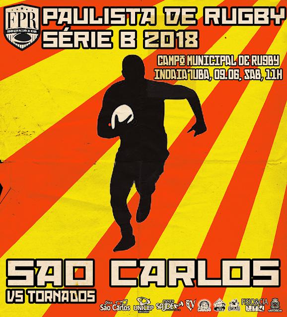 São Carlos encara o Tornados pelo Campeonato Paulista -
