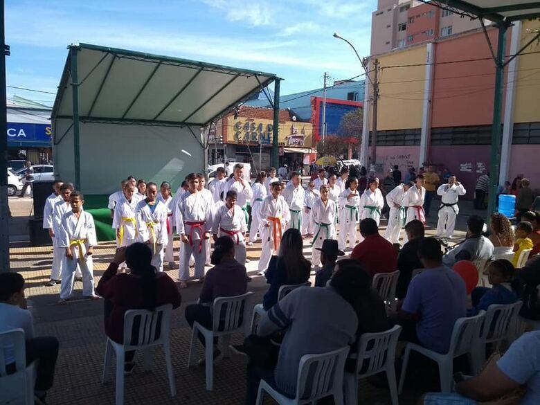 Associação Wada participa da abertura do mês das artes marciais - Crédito: Divulgação