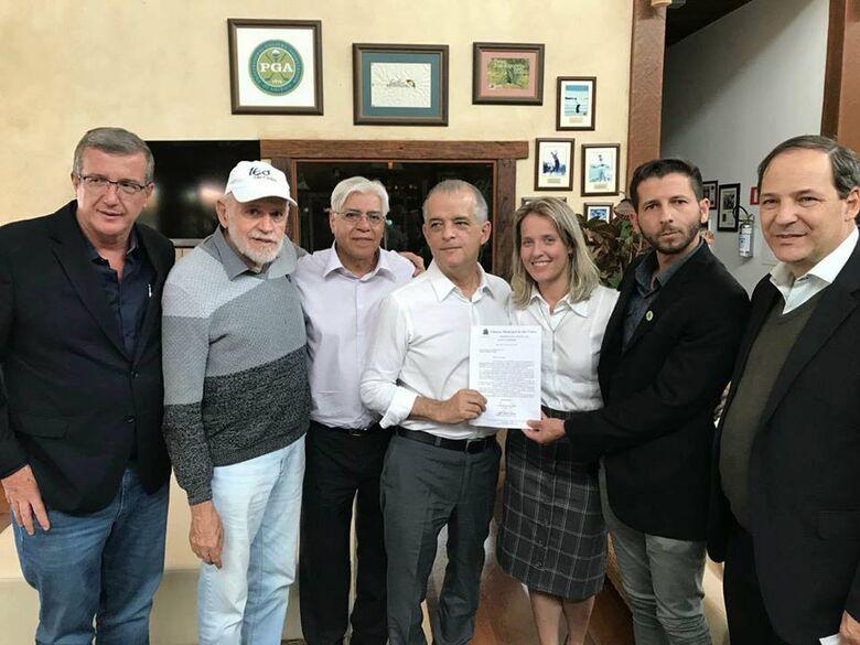Governador Márcio França garante construção da Fatec São Carlos em 2019 a pedido do vereador Elton Carvalho - Crédito: Divulgação