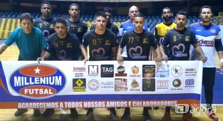 Millenium/Apoel é semifinalista da Copa Paulista Intertior de Futsal - Crédito: Marcos Escrivani