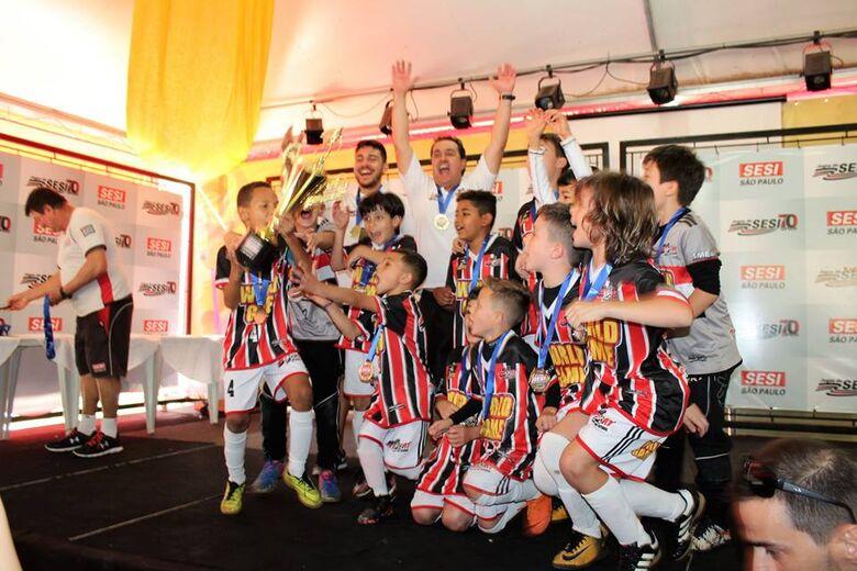 Multi Esporte conquistou dois títulos na Copa Sesi - Crédito: Divulgação