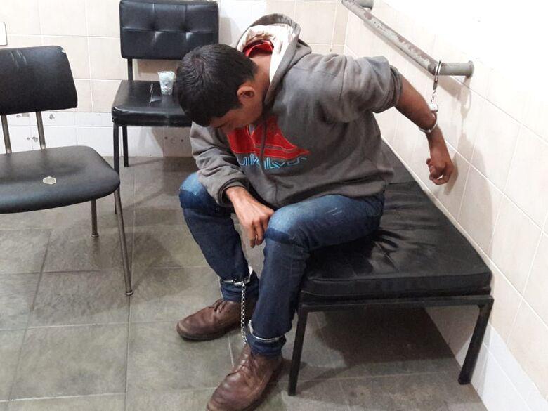 DIG prende homem acusado de espancar e estuprar mulher na Vila Rancho Velho - Crédito: Maycon Maximino