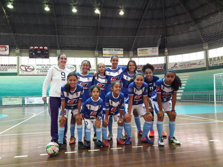 Sub13 'engoliu' Limeira B e mandou 13 a 0: Natália foi a 'matadora' com 7 gols - Crédito: Divulgação