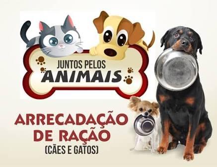 Campanha visa arrecadar alimentos para animais excluídos pela sociedade -