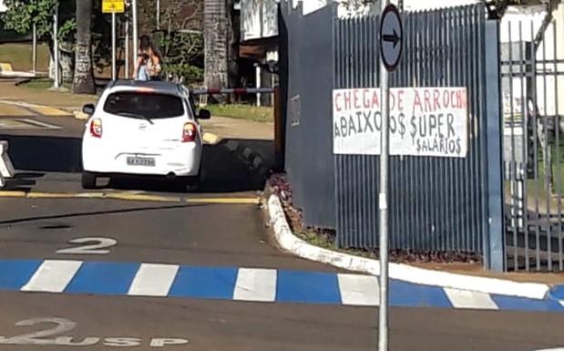 Servidores iniciam greve na USP São Carlos - Crédito: Maycon Maximino
