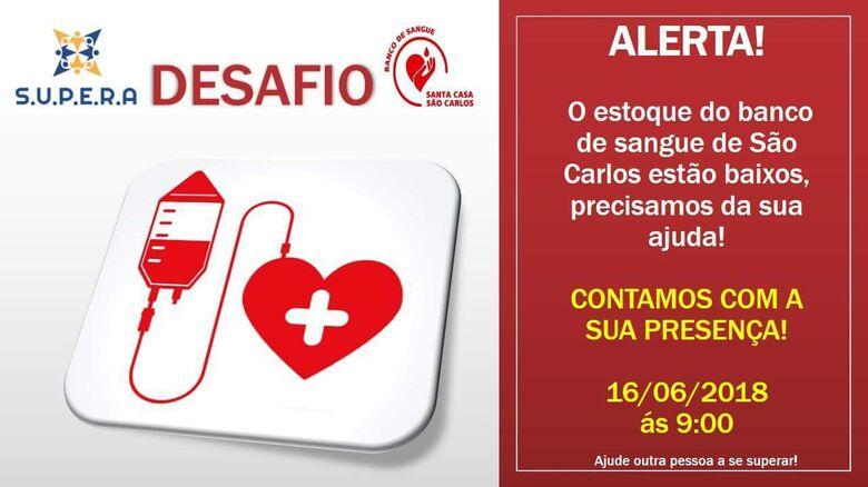 Supera lança desafio e faz campanha para doação de sangue -