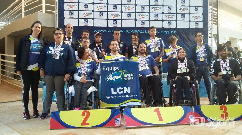 Time são-carlense brilhou em Bauru: 37 medalhas e nove campeões estaduais - Crédito: Divulgação