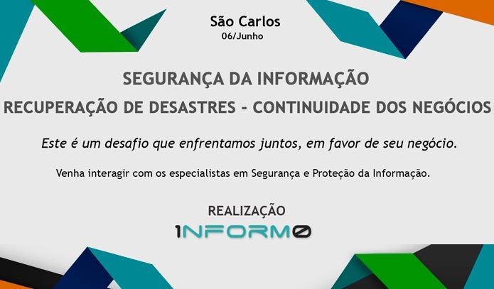 Informo promove palestras sobre segurança da informação e continuidade dos negócios -