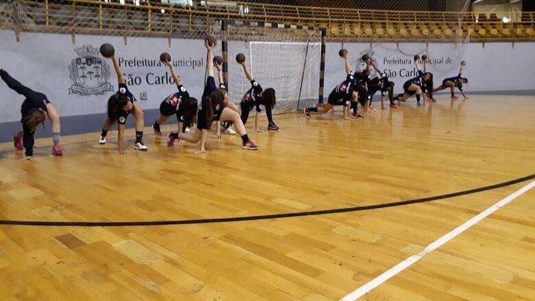 Atletas são-carlenses treinaram forte para o duplo desafio - Crédito: Marcos Escrivani