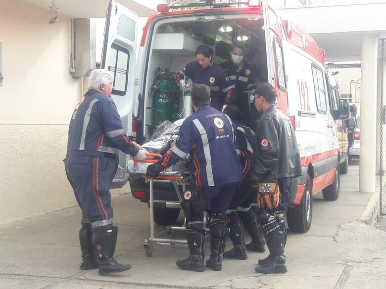 Homem sofre descarga elétrica na região central - Crédito: Maycon Maximino