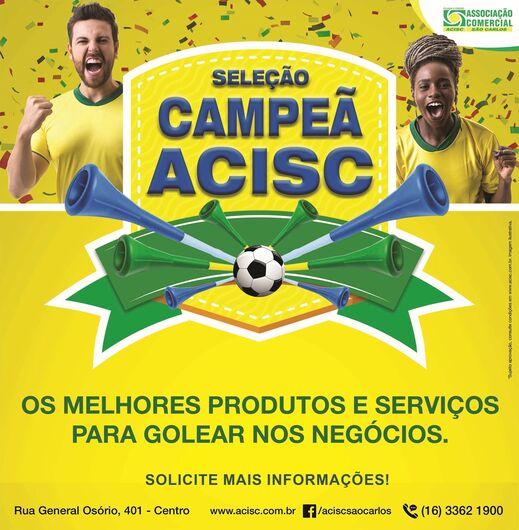 Acisc lança campanha para divulgar produtos e serviços -