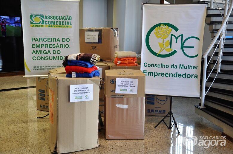 """Foram arrecadados 317 cobertores durante a campanha """"Doe um Cobertor 2018"""" - Crédito: Divulgação"""
