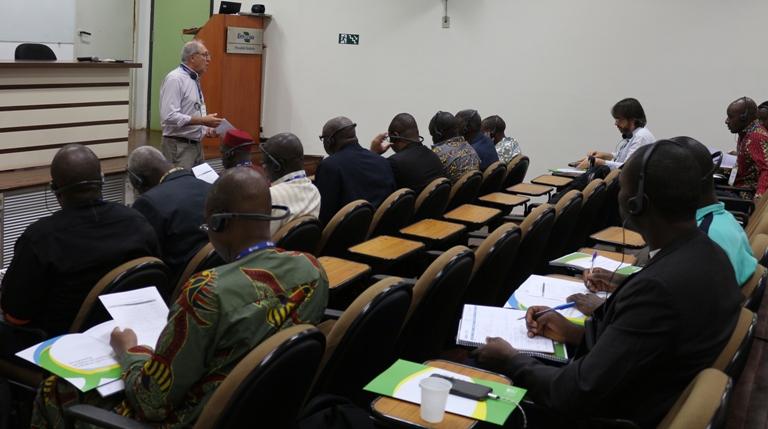 Africanos participam de workshop sobre produção de sementes - Crédito: Laura Souza Pereira