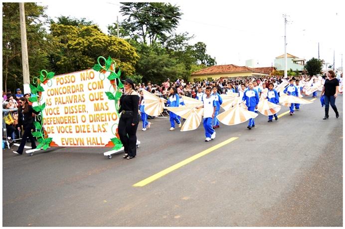 Desfile cívico encerra comemorações de aniversário de Ibaté - Crédito: Divulgação