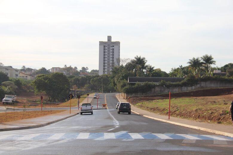 Prolongamento da Trabalhador São-Carlense é liberado para o trânsito de veículos - Crédito: Maycon Maximino