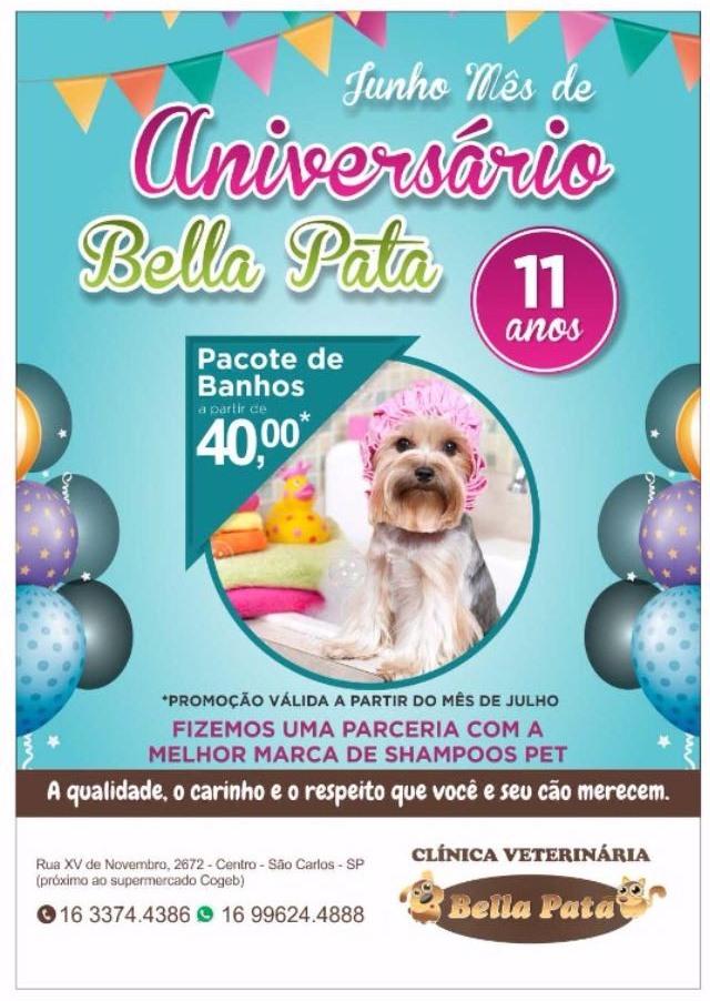 Com promoções especiais, Bella Pata completa 11 anos -