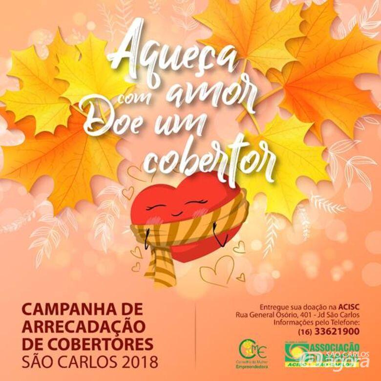 """Conselho de Mulher Empreendedora convida para encerramento da campanha """"Doe um Cobertor 2018"""" -"""