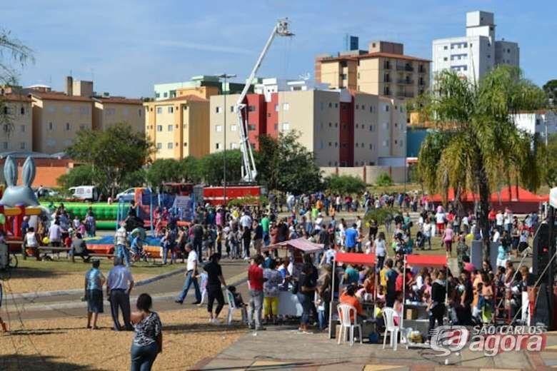 Festa em comemoração ao Dia do Bombeiro acontece neste domingo (1º) - Crédito: Arquivo/SCA
