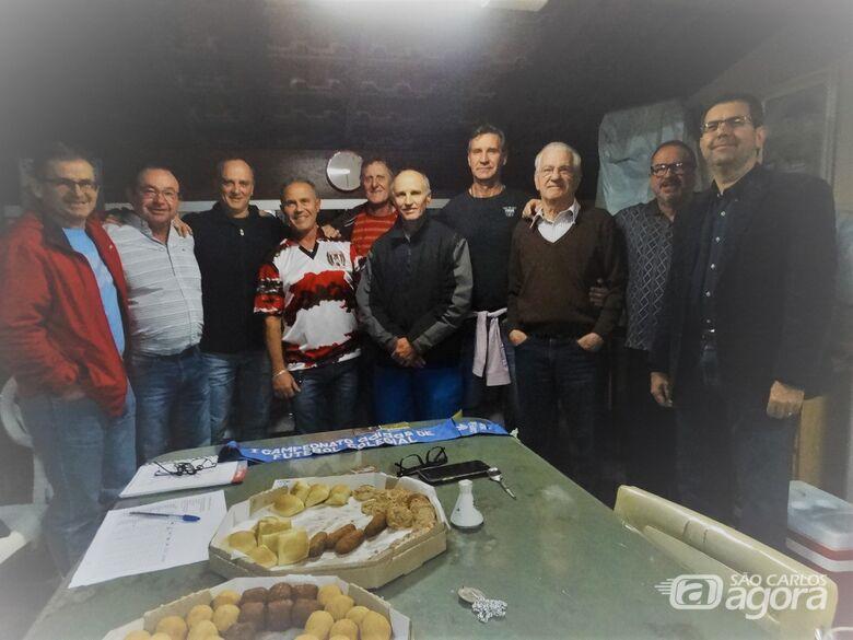 Alguns campeões do Paulistinha se reuniram: confraternização prevista para agosto - Crédito: Marcos Escrivani