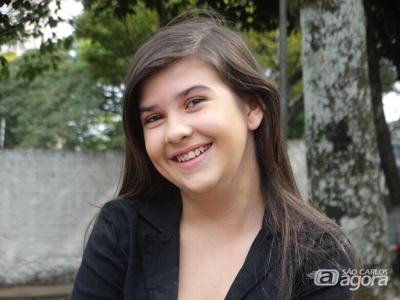 """Renata afirmou que realizou um sonho ao participar de uma novela: """"Vou me empenhar para ser uma atriz"""", garantiu - Crédito: Marcos Escrivani"""