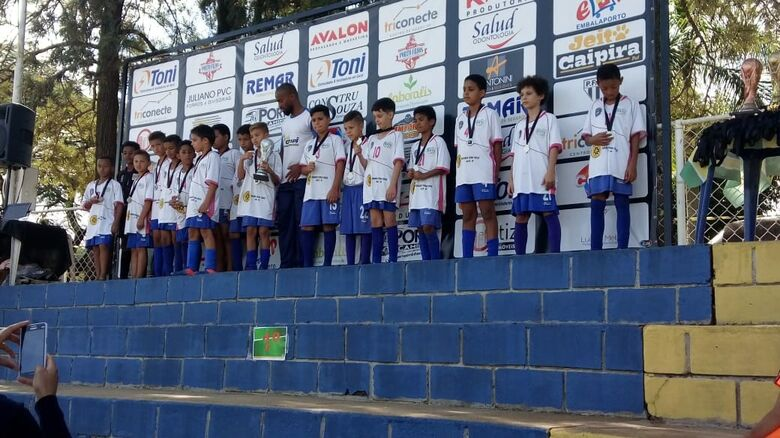 Ibaté conquista dois títulos e um vice na I Taça Gatto - Crédito: Divulgação