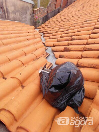 Ladrão é preso no telhado de residência no Douradinho - Crédito: Divulgação/PM