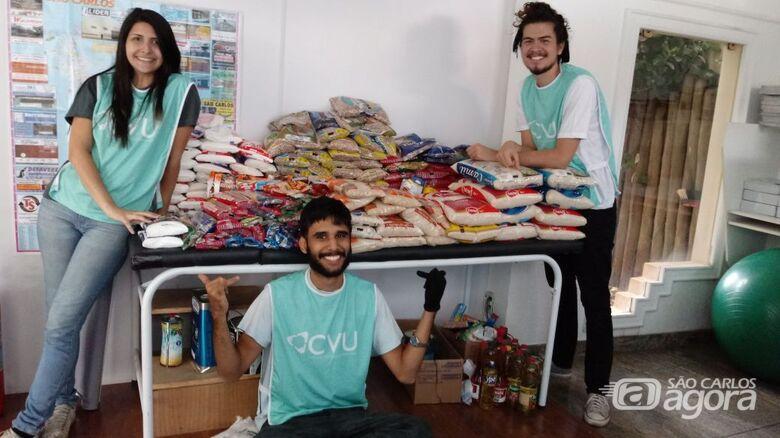 Care realiza campanha de arrecadação de alimentos - Crédito: Divulgação