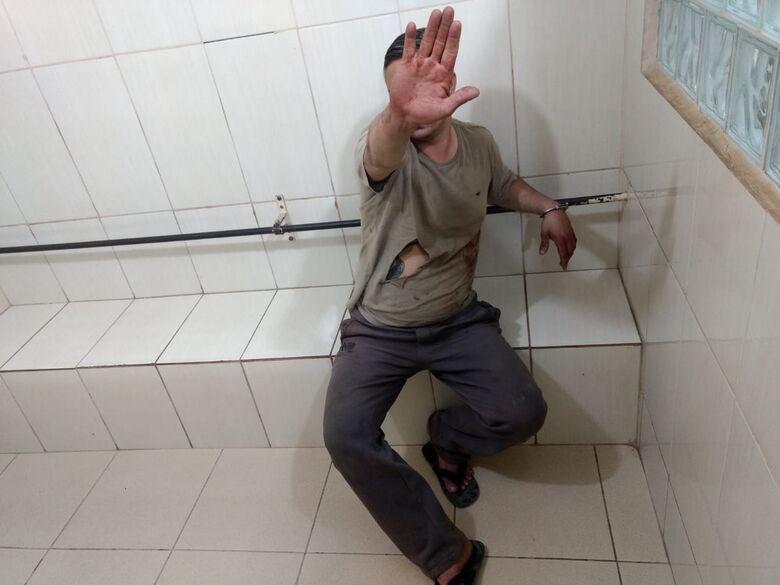 Ciumento, marido agride mulher na Vila Prado - Crédito: Luciano Lopes