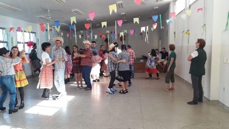 Festa Junina agita o Centro da Juventude Elaine Viviane - Crédito: Divulgação