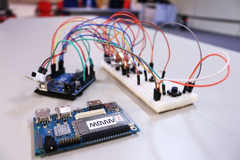 Protótipo passará por testes na Santa Casa de São Carlos - Crédito: Henrique Fontes/Fluke