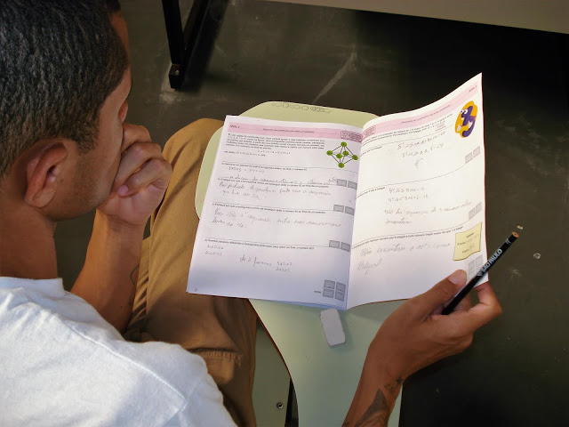 Números de presos paulistas participantes da Olimpíada Brasileira de Matemática das Escolas Públicas aumenta quase 20% - Crédito: Divulgação