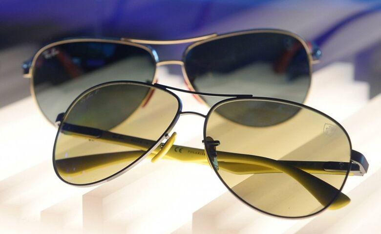 Golpe usa desconto de 90% em óculos Ray-Ban para atrair vítimas - Crédito: Divulgação