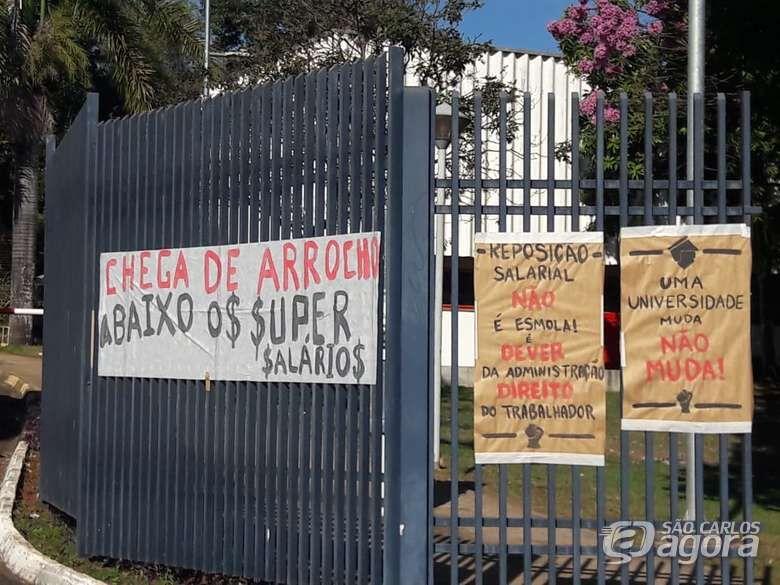 Grevistas da USP vão se reunir com reitoria para apresentar demandas - Crédito: Maycon Maximino