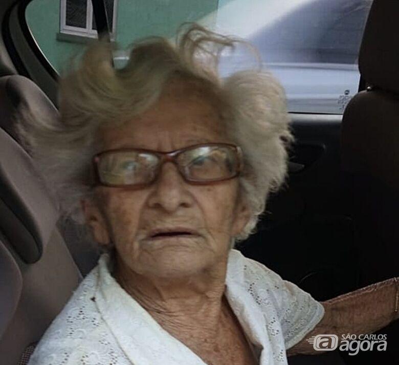 Procura-se família de idosa [localizada] - Crédito: Divulgação
