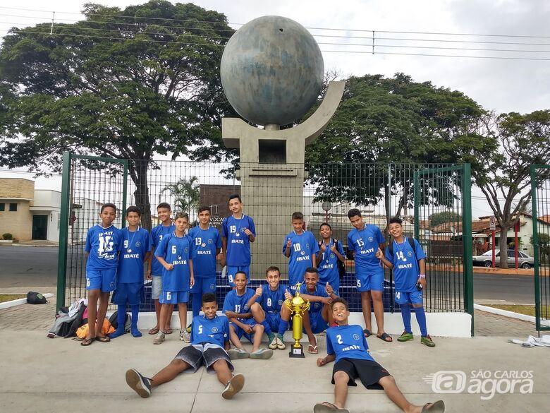 Ibaté sub13 conquista o 3º lugar no Campeonato Municipal de Futebol Menor de São Carlos - Crédito: Divulgação