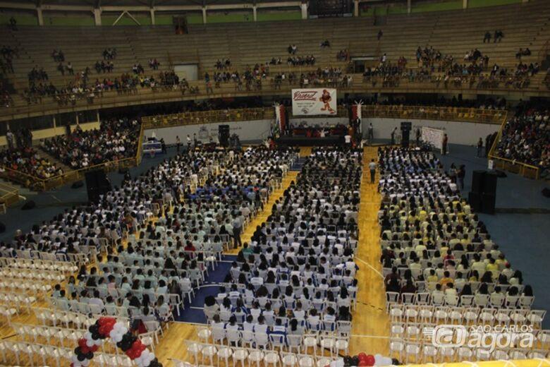 Proerd forma 1,4 mil crianças em São Carlos - Crédito: Abner Amiel/Folha São Carlos e Região
