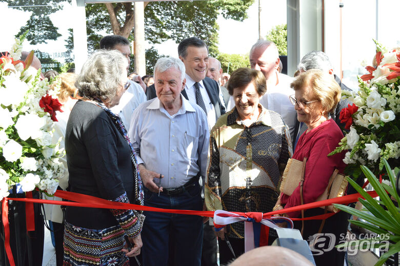 Momento em que da reinauguração da loja em Araraquara - Crédito: OG Propaganda