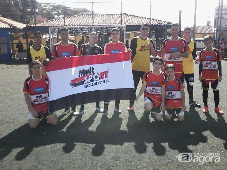 Mult Sport realiza jogos amistosos com a Joga Onze de Araraquara - Crédito: Divulgação