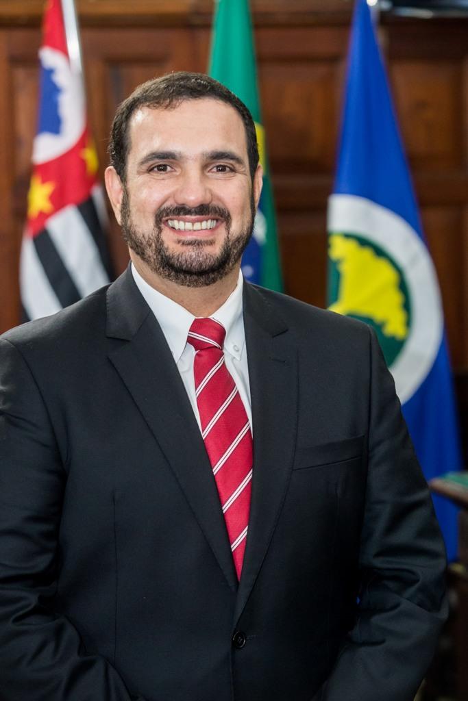"""O presidente da Câmara, vereador Julio Cesar: """"Tivemos um primeiro semestre positivo"""" - Crédito: Divulgação"""